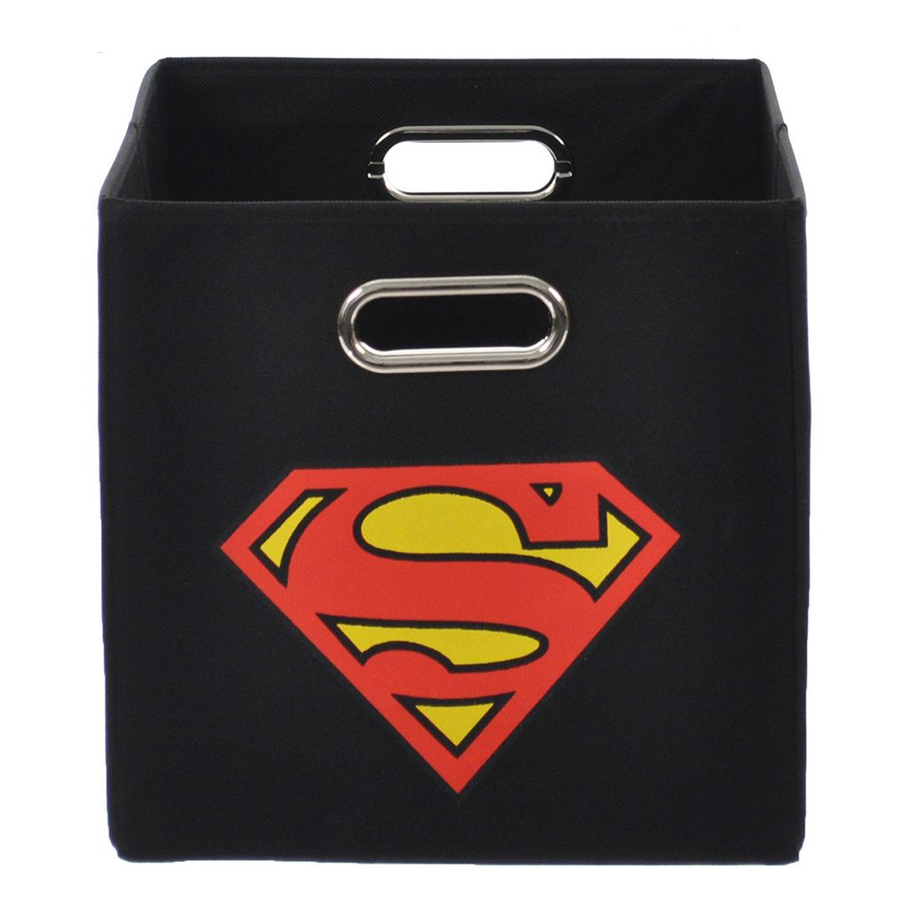 DC Comics Superman Logo Collapsible Storage Bin