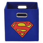 DC Comics Superman Logo Collapsible Storage Bin
