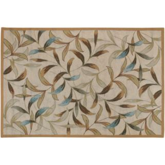 Couristan Spring Vista Floral Indoor Outdoor Rug