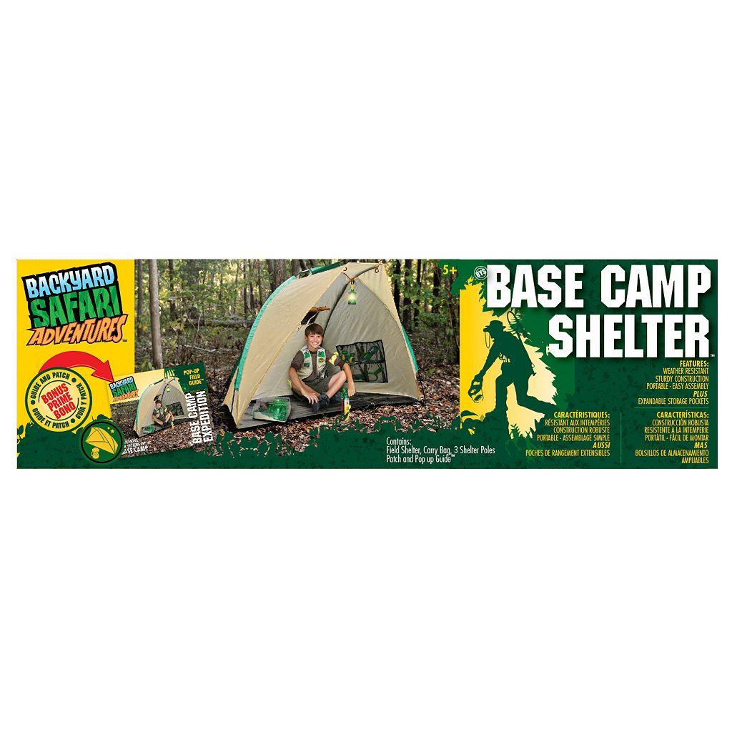 Backyard Safari Base Camp Shelter