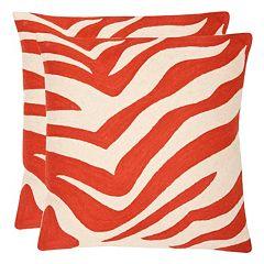 Safavieh 2 pc Urban Spice Throw Pillow Set