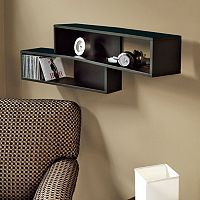 nexxt Luca Angled Wall Shelf