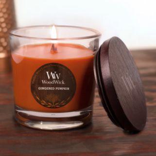 WoodWick Gingered Pumpkin 10.5-oz. Jar Candle