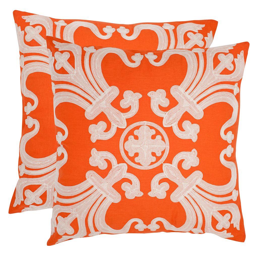 Safavieh 2-piece Collette Throw Pillow Set