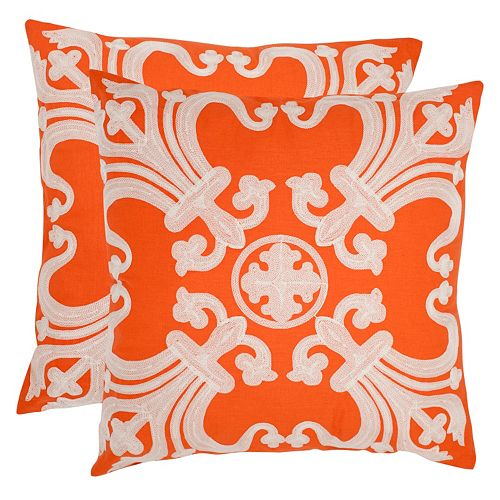 Safavieh 2-piece Collette Throw Pillow Set