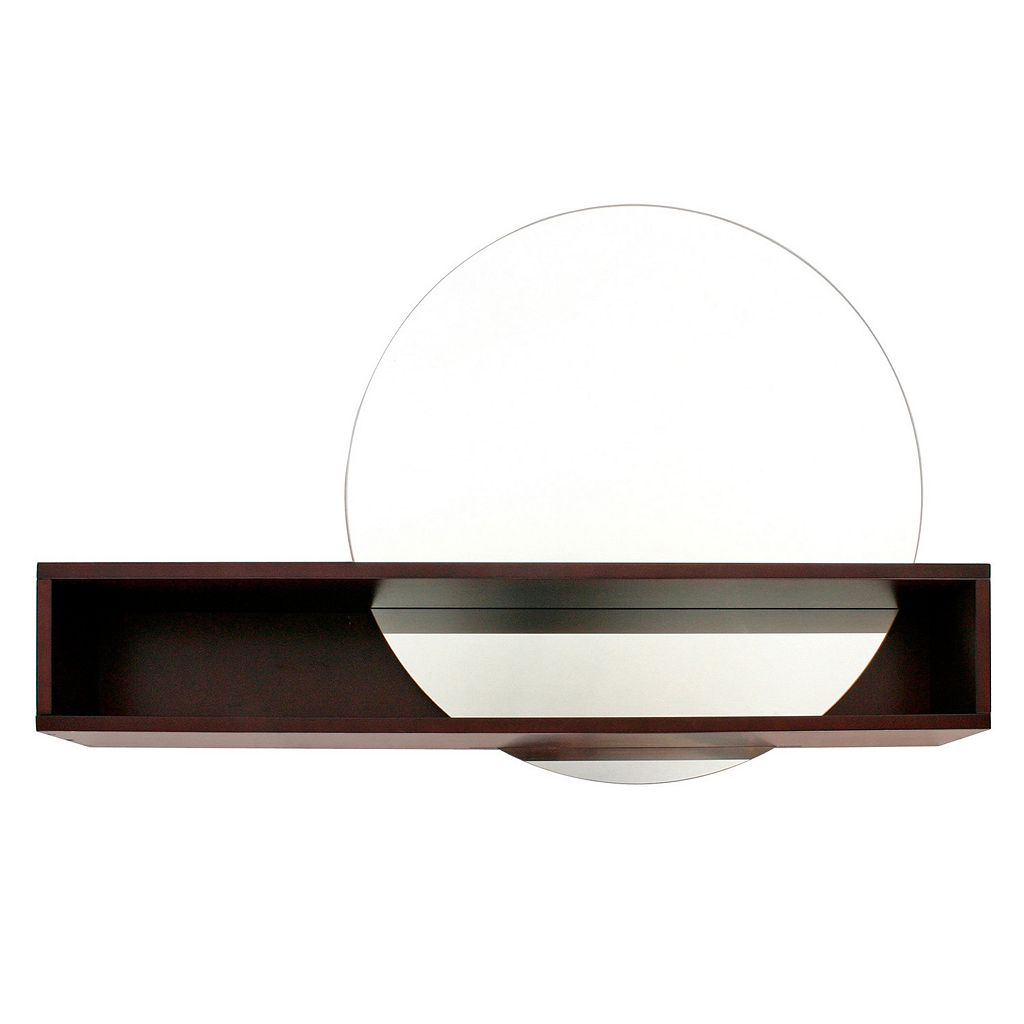 nexxt Tate Mirror & Wall Shelf