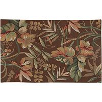 Couristan Boca Retreat Floral Indoor Outdoor Rug