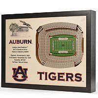 Auburn Tigers StadiumViews 3D Wall Art