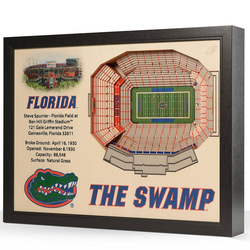 Florida Gators StadiumViews 3D Wall Art