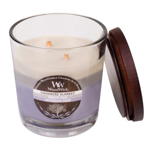 WoodWick Tri-Tone Cashmere Blanket 17.2-oz. Jar Candle