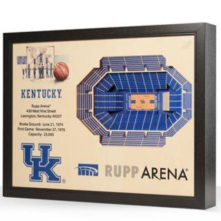 Kentucky Wildcats StadiumViews 3D Wall Art