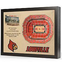 Louisville Cardinals StadiumViews 3D Wall Art