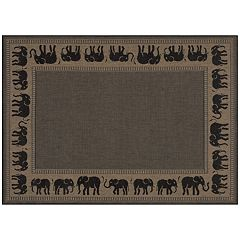 Couristan Elephant Indoor Outdoor Rug
