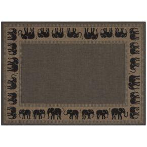 Couristan Elephant Indoor Outdoor Rug