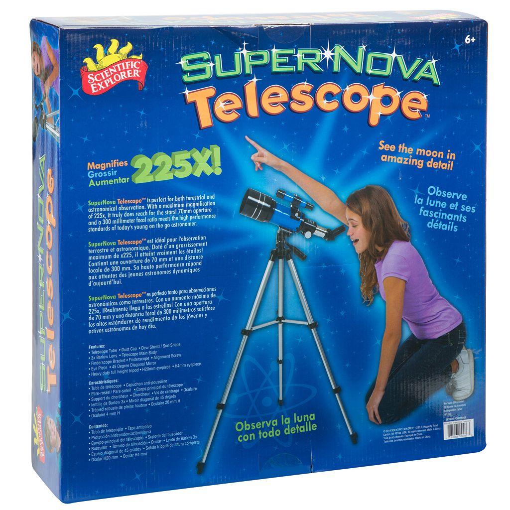 Scientific Explorer Super Nova Telescope