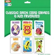 Ideal 6 pkClassic Kid Card Games