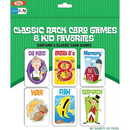 Ideal 6-pk. Classic Kid Card Games
