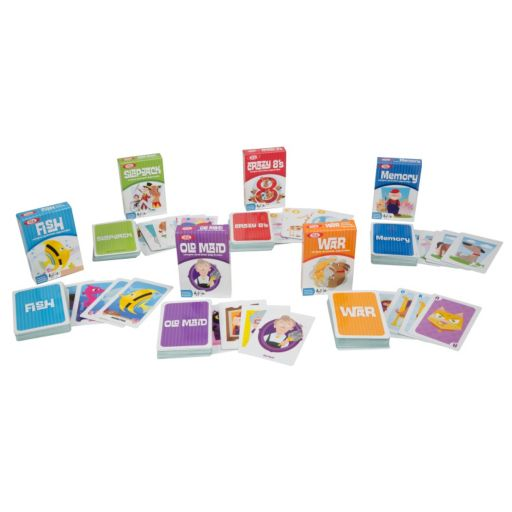 Ideal 6-pk. Classic Kid Card Games