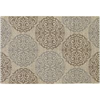Couristan Five Seasons Montecito Medallion Indoor Outdoor Rug