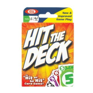 Ideal Hit The Deck Card Game