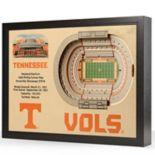 Tennessee Volunteers StadiumViews 3D Wall Art