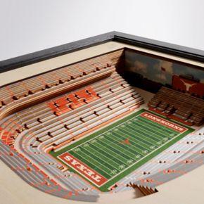 Texas Longhorns StadiumViews 3D Wall Art