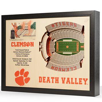 Clemson Tigers StadiumViews 3D Wall Art