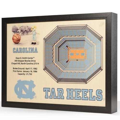 North Carolina Tar Heels StadiumViews 3D Wall Art