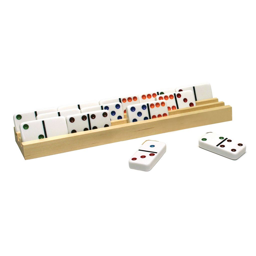 Ideal 4-pk. Wood Domino Trays