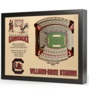 South Carolina Gamecocks StadiumViews 3D Wall Art
