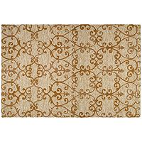 Couristan Fresco Estates Scroll Indoor Outdoor Rug