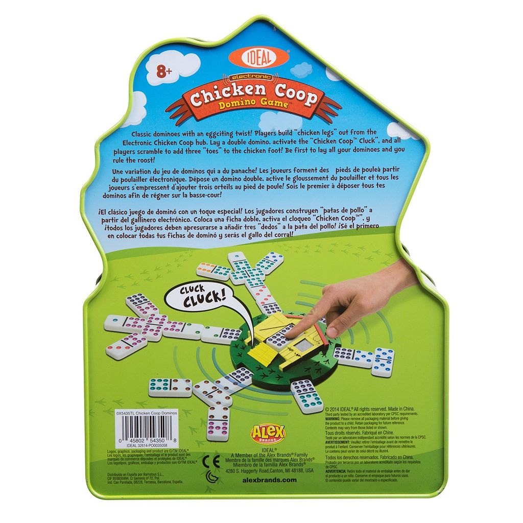 Ideal Chicken Coop Domino Game