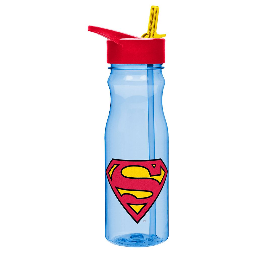 DC Comics Superman 25-oz. Insulated Straw Water Bottle by Zak Designs