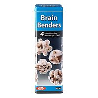Ideal Brain Benders 3D Wood Puzzles