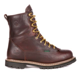 Georgia Boot Loggers Men's 8-in. Waterproof Work Boots