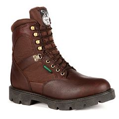 Georgia Boot Homeland Men's 8 in Waterproof Work Boots