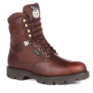 c1ce16e9020 Georgia Boot Eagle Light Men's 8-in. Work Boots