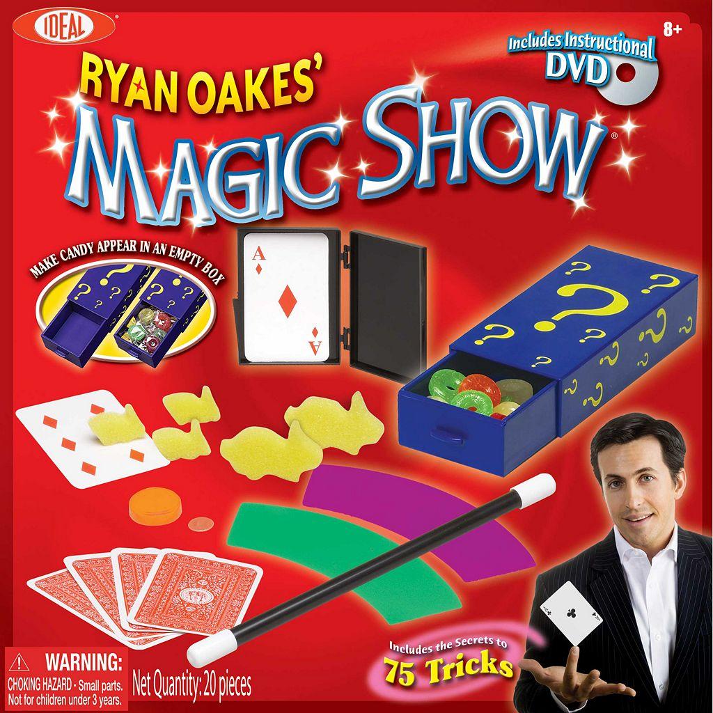 Ideal Ryan Oakes 75 Trick Magic Show Kit