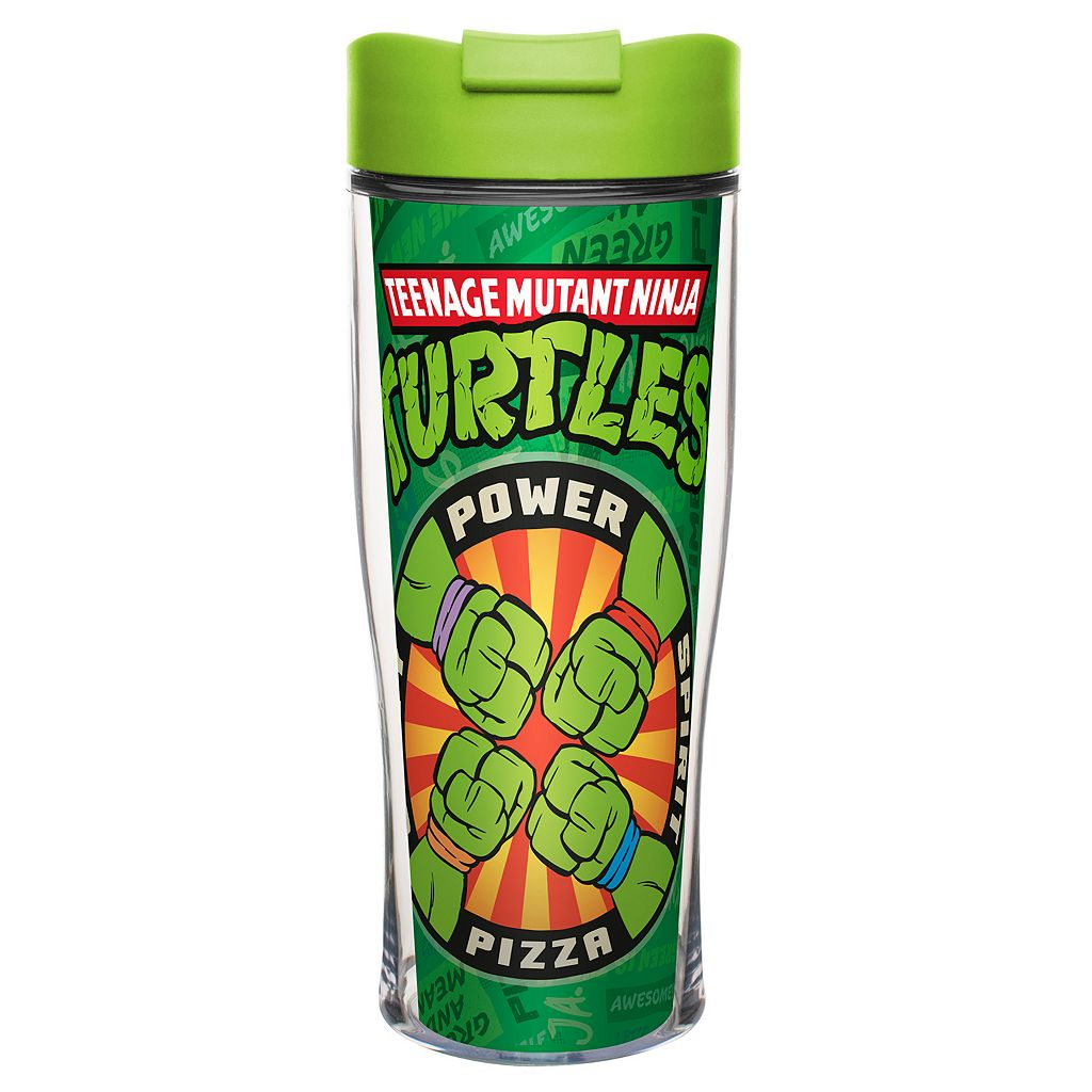 Zak Designs Teenage Mutant Ninja Turtles 15-oz. Insulated Travel Tumbler