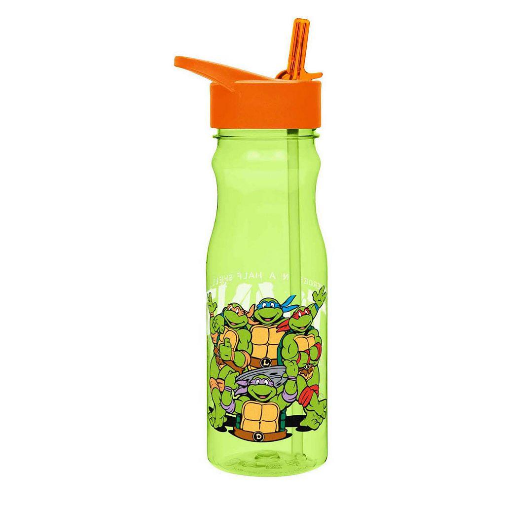 Zak Designs Teenage Mutant Ninja Turtles 25-oz. Insulated Straw Water Bottle