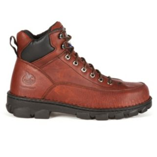Georgia Boot Eagle Light Wide Load Men's 6-in. Steel-Toe Work Boots