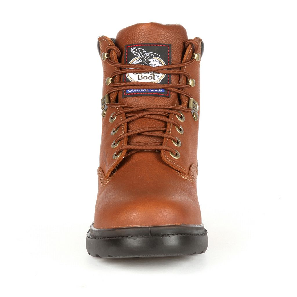 Georgia Boot Fixpoint Farm & Ranch Men's 6-in. Waterproof Work Boots