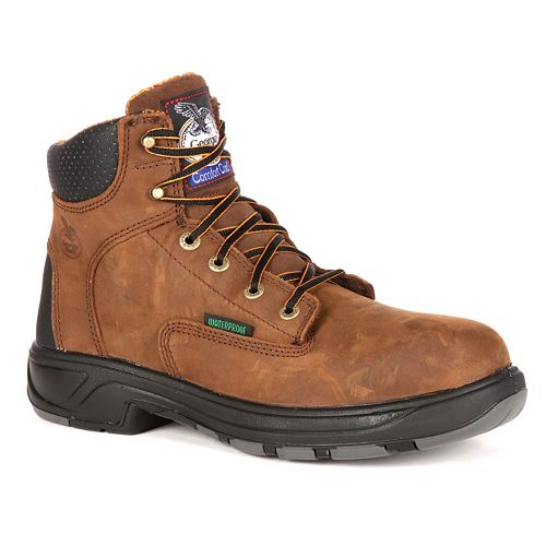 Georgia Boot Fixpoint Men's 6-in. Waterproof Work Boots