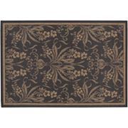Couristan Garden Cottage Floral Indoor Outdoor Rug