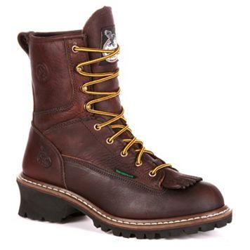 Georgia Boot Loggers Men's Waterproof Work Boots