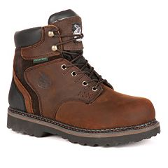 Georgia Boot Brookville Men's 6 in Waterproof Work Boots