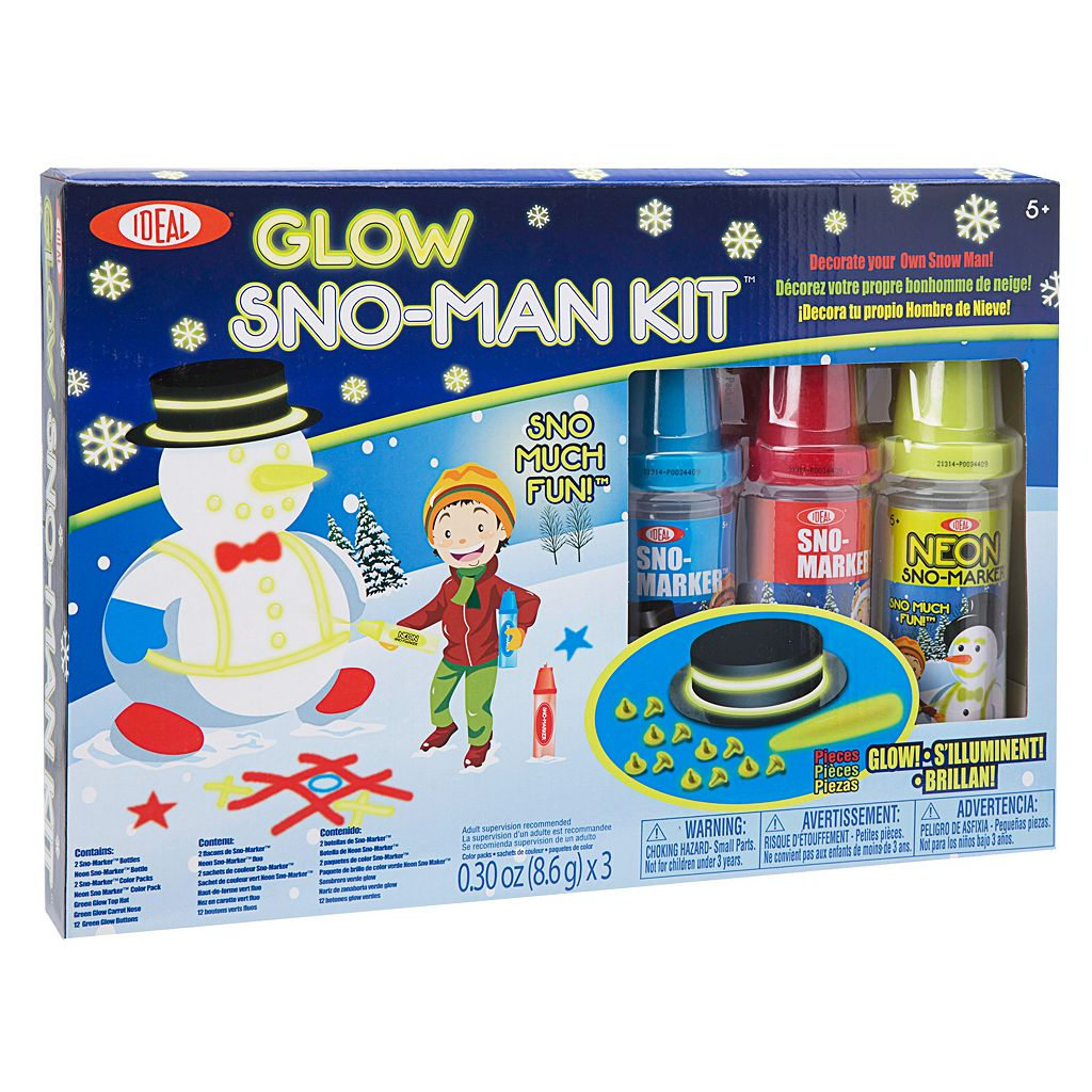 Ideal Glow Sno-Man Kit