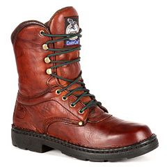 Georgia Boot Eagle Light Men's 8 in Work Boots