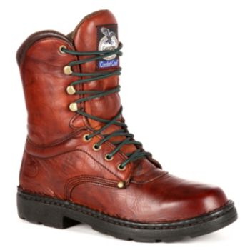 Georgia Boot Eagle Light Men's 8-in. Work Boots