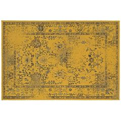 StyleHaven Riverside Saturated Sunflower Rug